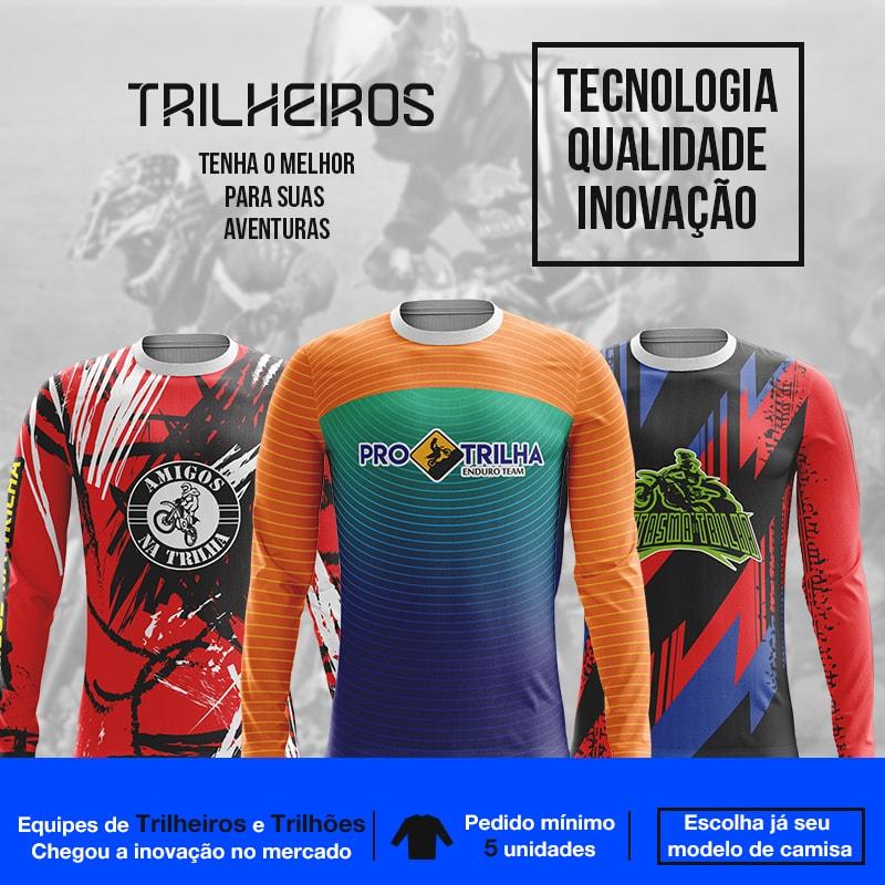Camisas De Trilha Personalizadas Envio P Todo O Brasil Confira