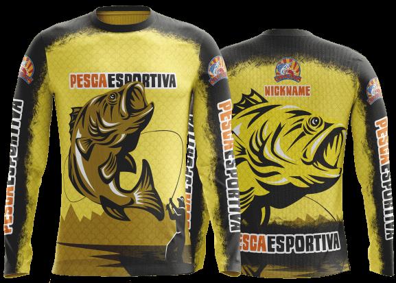 Camisas de pesca esportiva personalizadas  As melhores aqui 55664480538f8