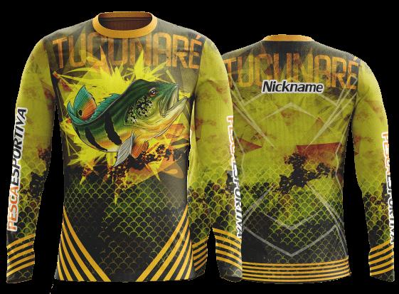 Camiseta de pesca esportiva manga longa – Personalizadas aa23501b5e96b