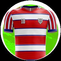 camisa de time personalizada
