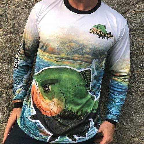 Camisetas de Pesca Personalizadas
