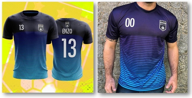 dc4568a731684 Crie agora a sua camiseta de time personalizada