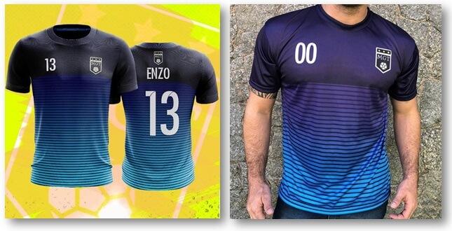e970851daa Camisa de futebol personalizada