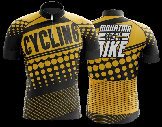 modelo de camisa de ciclismo personalizada