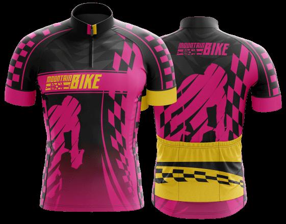 camisa de ciclismo personalizada 15