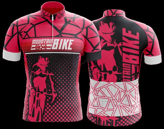 camisa de ciclismo personalizada 17