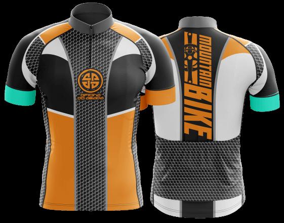 camisa de ciclismo personalizada 22