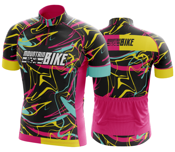 camisa de ciclismo personalizada 25