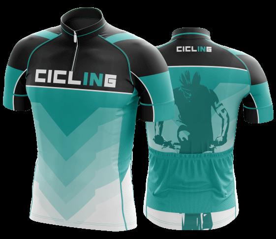 camisa de ciclismo personalizada 36