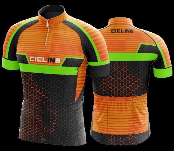 camisa de ciclismo personalizada 37