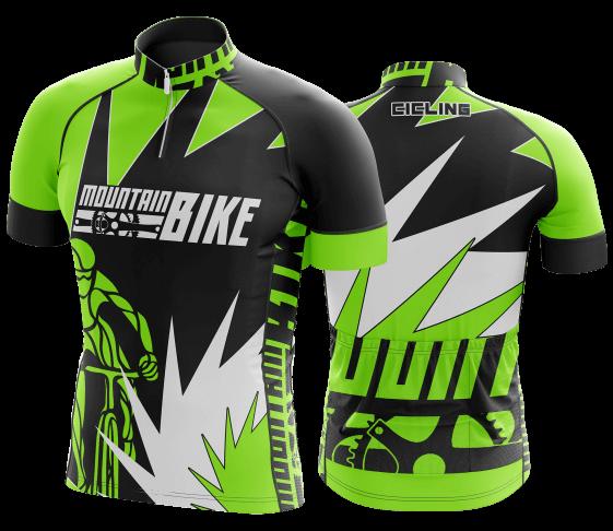 camisa de ciclismo personalizada 38
