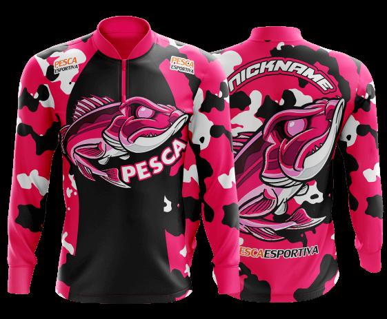 camisa de pesca personalizada