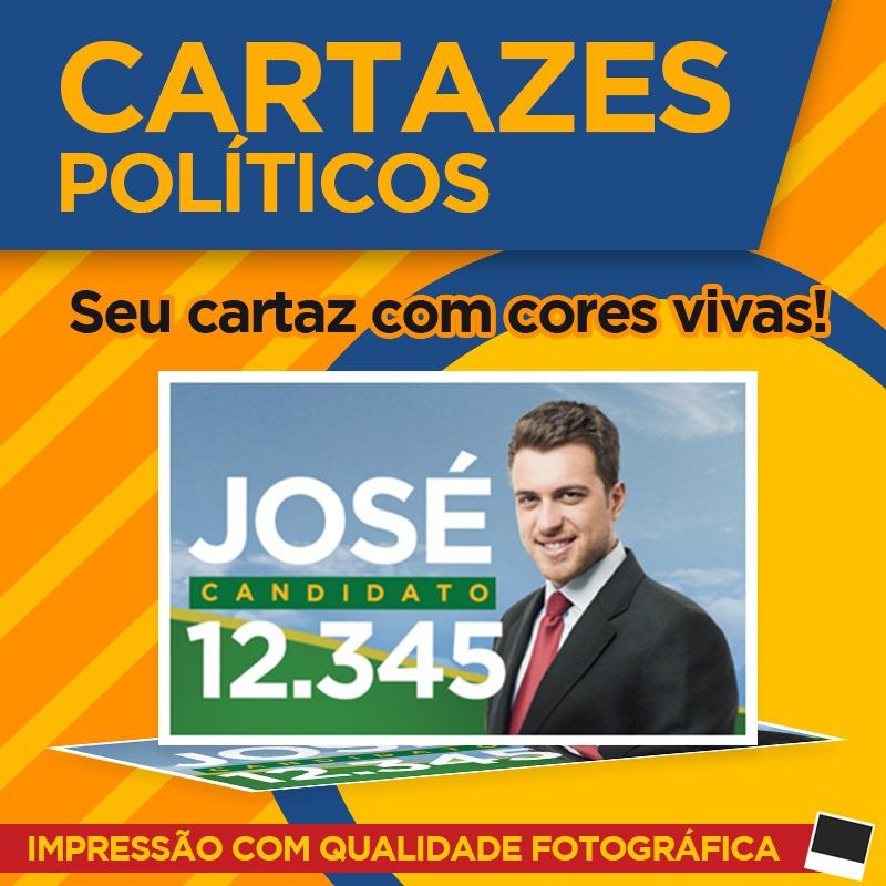 cartazes politicos