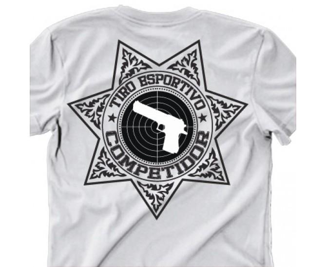 Camiseta tiro esportivo