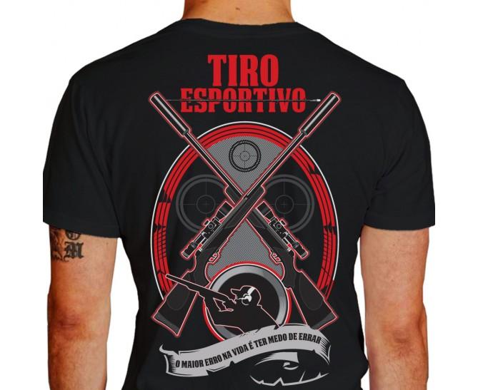 camiseta de tiro esportivo