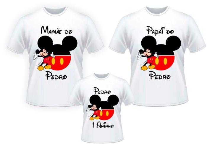 camisetas personalizadas aniversario crianca