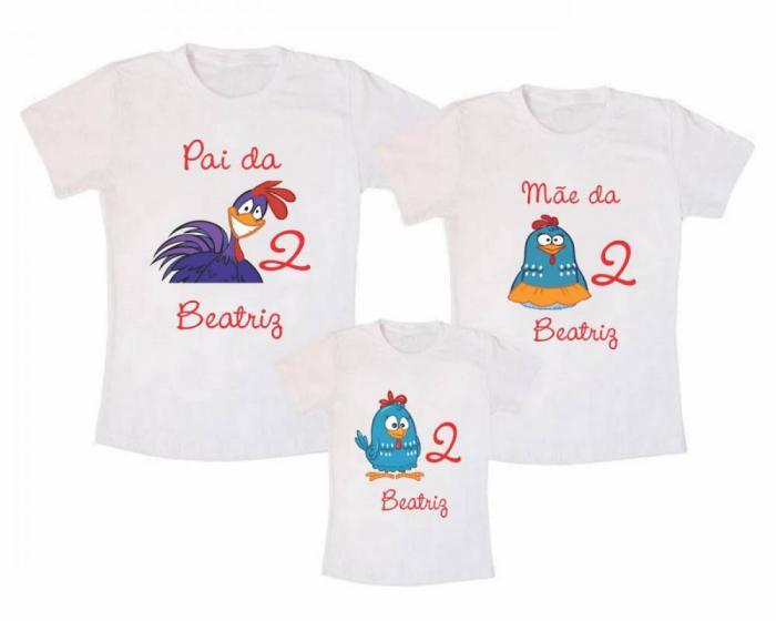 camisetas personalizadas aniversario familia