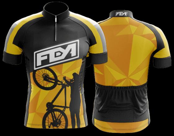 camisa de ciclismo personalizada 49
