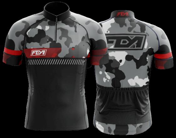 camisa de ciclismo personalizada 55