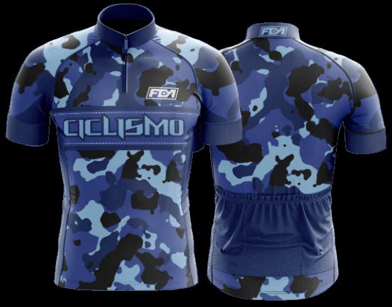 camisa de ciclismo personalizada 71