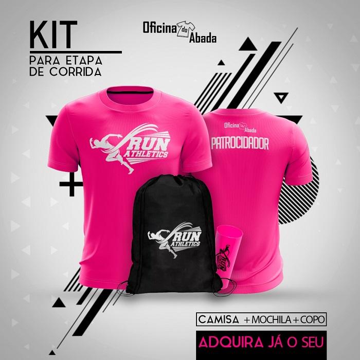 kit camisa corrida de rua 1