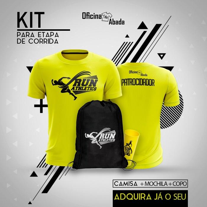 kit camisa corrida de rua 10