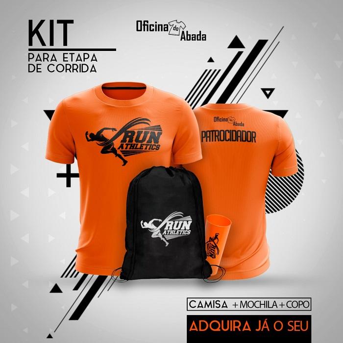 kit camisa corrida de rua 2