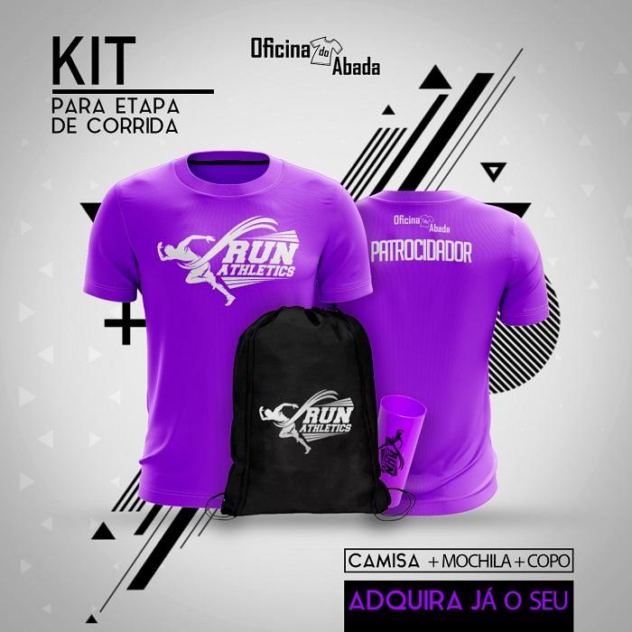 kit camisa corrida de rua 7