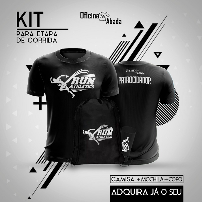 kit camisa corrida de rua 9