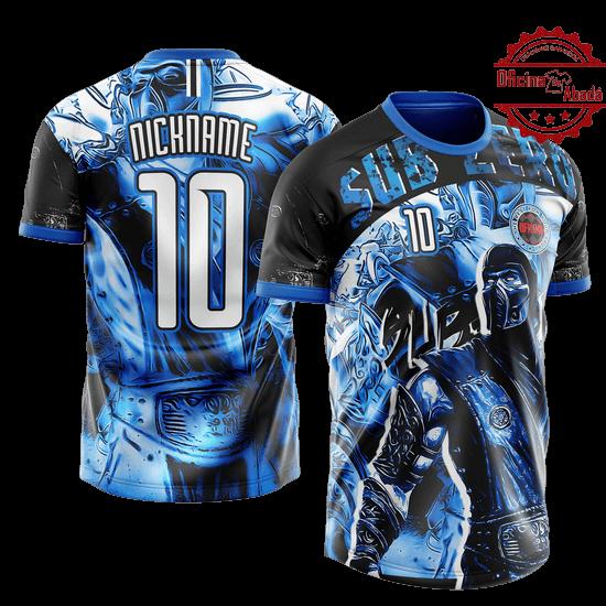 camisa de time personalizada catn 001