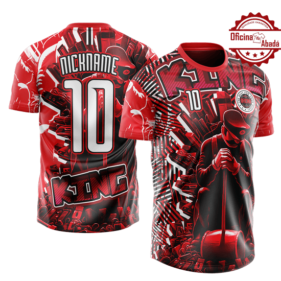 camisa de time personalizada catn 002