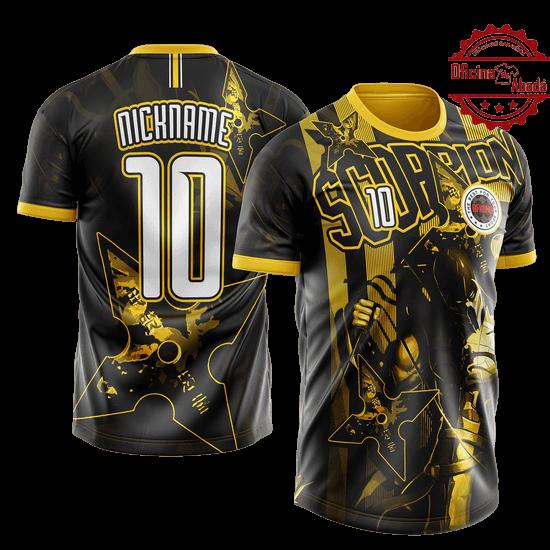 camisa de time personalizada catn 003