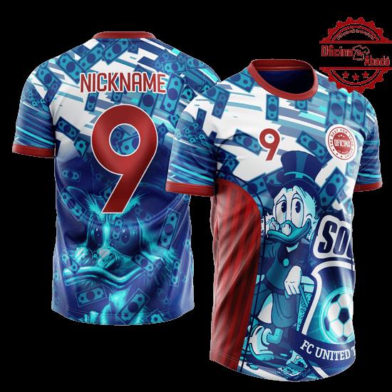 camisa de time personalizada catn 032