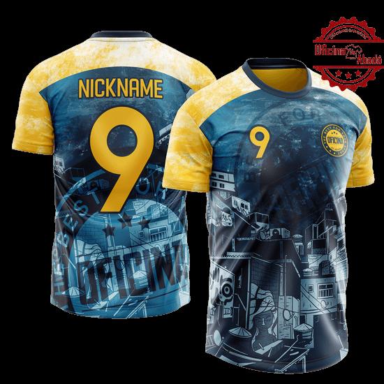 camisa de time personalizada catn 043