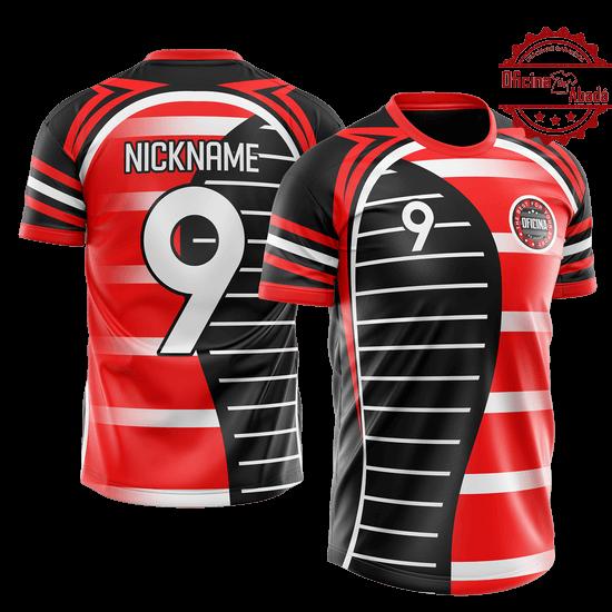 camisa de time personalizada catn 075