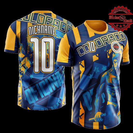 camisa de time personalizada catn 076