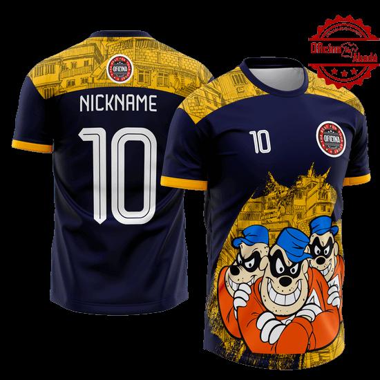 camisa de time personalizada catn 082