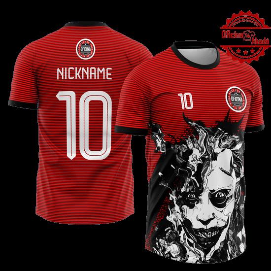 camisa de time personalizada catn 093