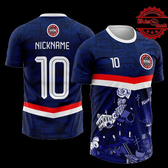 camisa de time personalizada catn 101