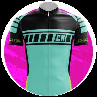 mini camisa de ciclismo personalizada logo