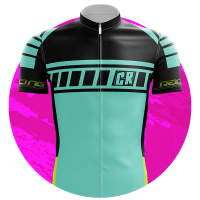 mini camisa de ciclismo personalizada logo 1