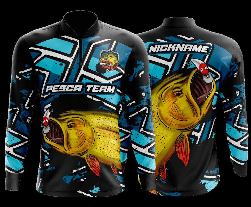 camisa de pesca mercado livre